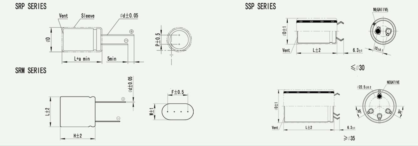 圆柱型超级电容法拉电容2.7v 2.0f